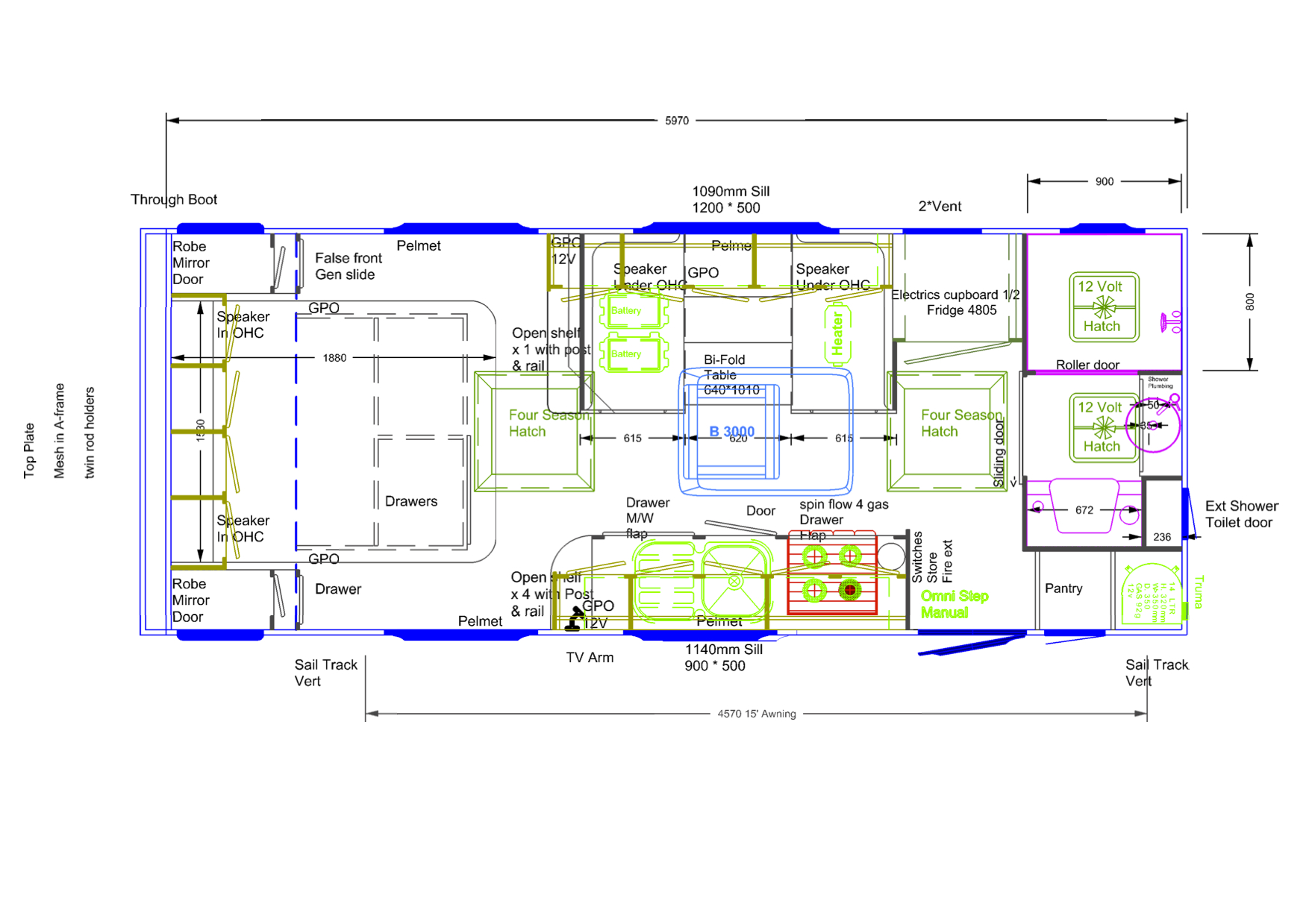 Nomad - PH002 - Floor Plan