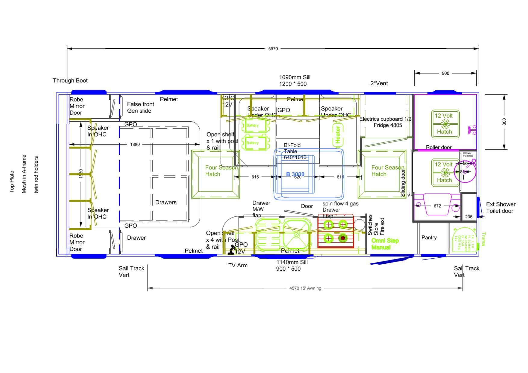 Nomad phoenix caravans Blueprint designer free